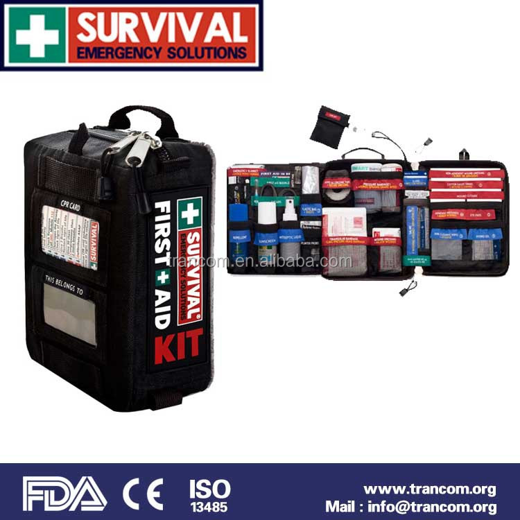 SES02 China Professional High Quality Outdoor Travel First Aid Kit with (CE&ISO&FDA&TGA)Approved
