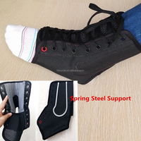 Medical Sport stabilization ankle support with spring steel brace