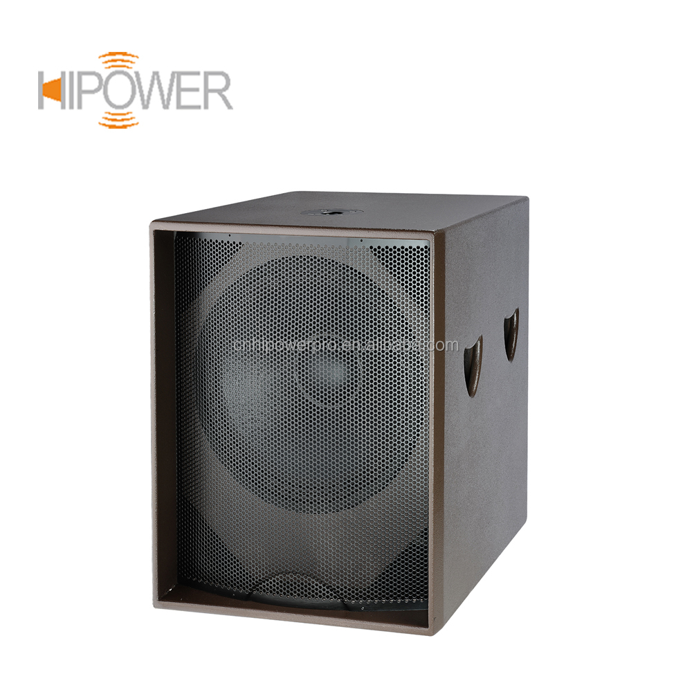 Single 18 Inch Subwoofer, Professional Outdoor Concert Speakers Subwoofer, 18 Inch Subwoofer Dj Sapeak Box S18