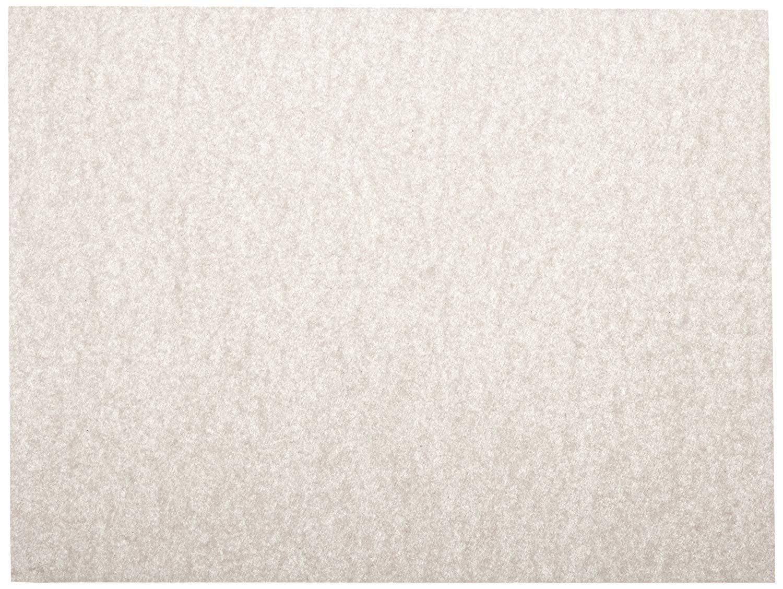 Sax Plain White Newsprint Newspaper - 9 x 12 - Pack of 500 Sheets - White