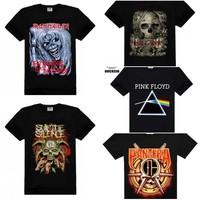 Rock metal softextile t-shirt,t shirt printing,t shirt