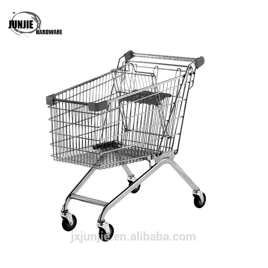 Supermarket shoppingcart trolly car European logistics