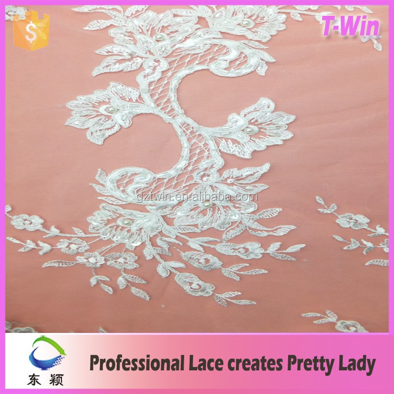 2016 elie saab buy lace fabric online for dress civil wedding georgette lace fabric