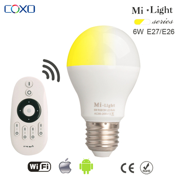 Mi.light 6w Led Light Bulb For Apple And Android Application