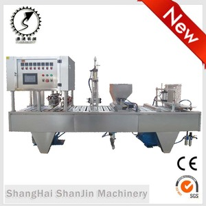 Used complete production line Coffee capsule machine Coffee capsule filling machine Coffee capsule filling sealing machine