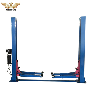 2 Cylinder Hydraulic garage Mobile Floor Plate Car Lift Outdoor