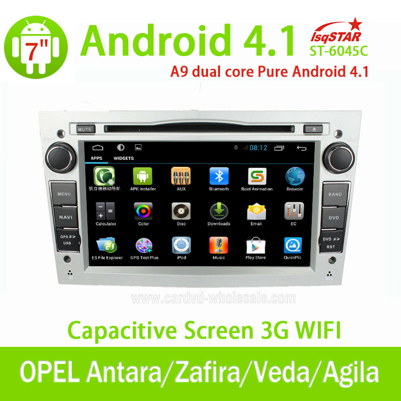 LSQ Star wholesale Capacitive Android Opel Corsa/Vectra car gps navigation with OBD dvd 3G WiFi Multi-touch CPU 1.5GHZ