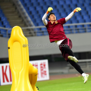 Professional goalkeeper training dummy ,inflatable air mannequins soccer dummy