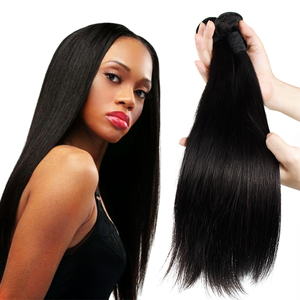 Alibaba Factory price peruvian cuticle aligned human hair extension in Dubai