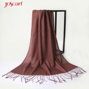 newest fashion jacquard women viscose with luxe pashmina scarf kani shawls