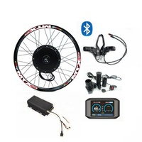 Cheap electric bike kit europe 3000w ebike kit 36-72v electric bike conversion kit