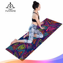 pro custom private label sublimation digital printed natural rubber machine washable zenergy fitness eco yoga mat manufacturer