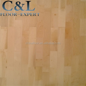 Standard Size Prefinished A Grade Basketball Court Maple Solid Wood