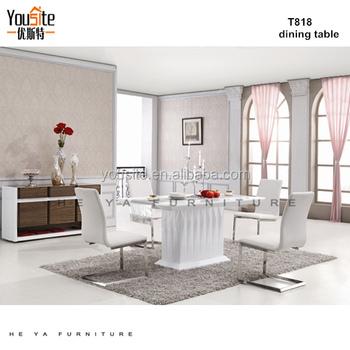 Sala Da Pranzo Mobili Di Lusso Set Dinette Tavolo Da Pranzo ...
