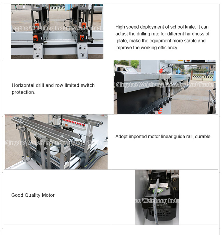 MZB73213 Good Quality Multiple Spindle Drilling Machine woodworking machinery