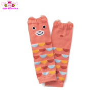 Lovely ready to ship cartoon animal design baby girl sock toddler custom leg warmers boutique