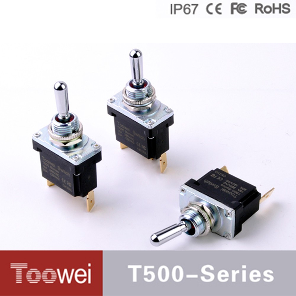 Toowei Waterproof Toggle Switch 15a 20a 3-way On Off On Momentary Toggle  Switch - Buy 3-way On Off On Momentary Toggle Switch,Waterproof Toggle