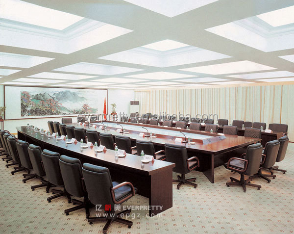 Standard Size Long Conference Table Meeting Room Table