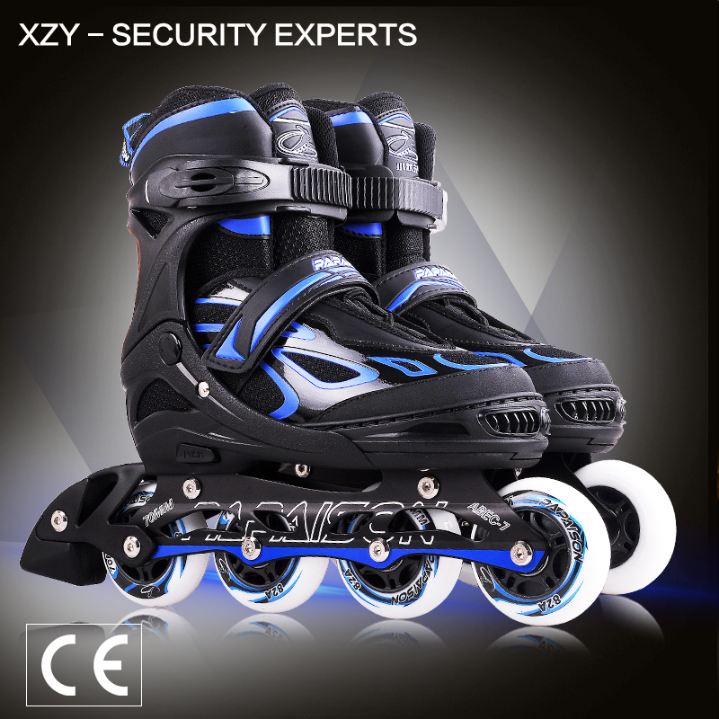 CE Approval Flash Wheels Roller Skate Shoes Speed For Sports