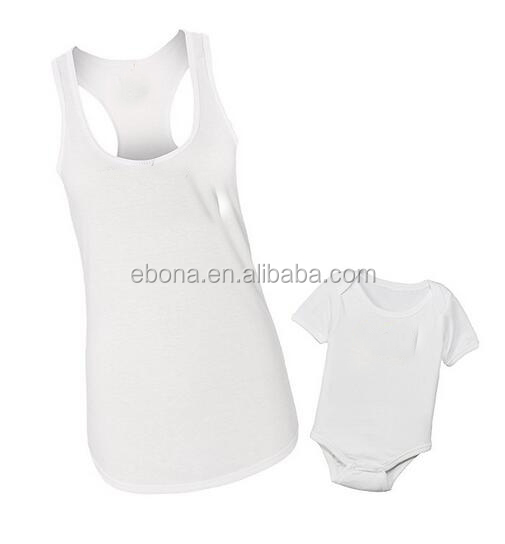 High Quality Mother Daughter Outfits Tops Women Singlets Baby Summer Wear