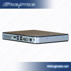 ZC-H550 HD Mini PC With INTEL ATOM D2550 Dual Core CPU Fast CPU 5 USB Small Industrial Mini PC