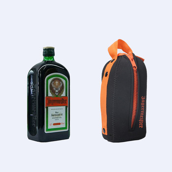 Promotional Custom Neoprene Wine Bottle Cooler Bag For