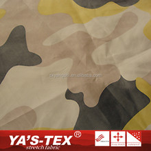 High Quality Camouflage Printing Wholesale Microfiber Polyester Military Fabric For Sportswear