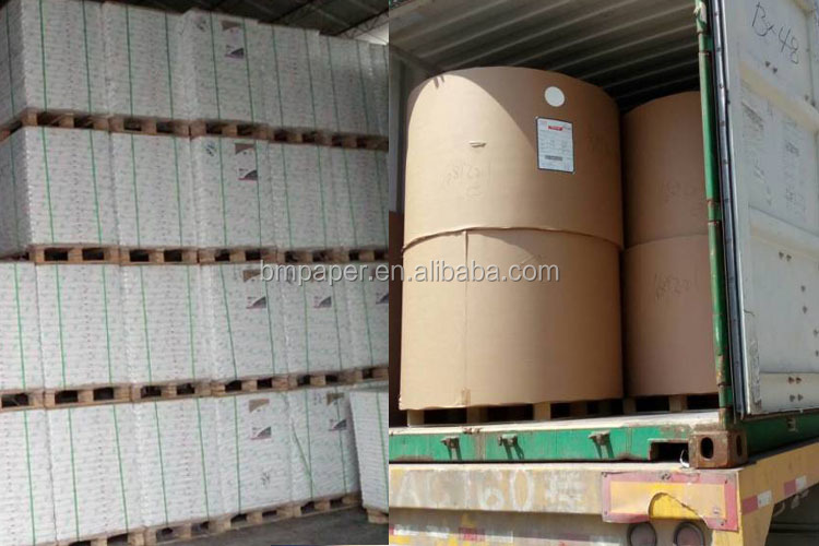60gsm 70gsm 80gsm Uncoated woodfree offset printing paper on sale