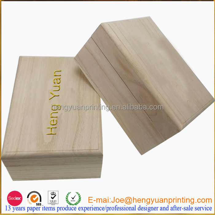 2015 Unfinished Custom Wooden Box For Gift Wooden Shoe Box ...