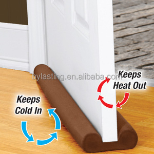 Ordinaire Door Draft Excluder Double Sided Draught Stopper And Breeze Blocker Draught  Guard Insulator