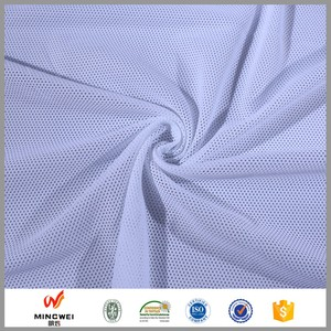 Athletic Clothing Usage Quick Drying DTY Polyester Mesh Lining Fabric