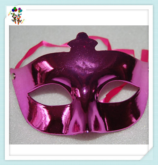 Cheap Plastic Masquerade Party Ladies Purple Venetian Masks HPC-2106
