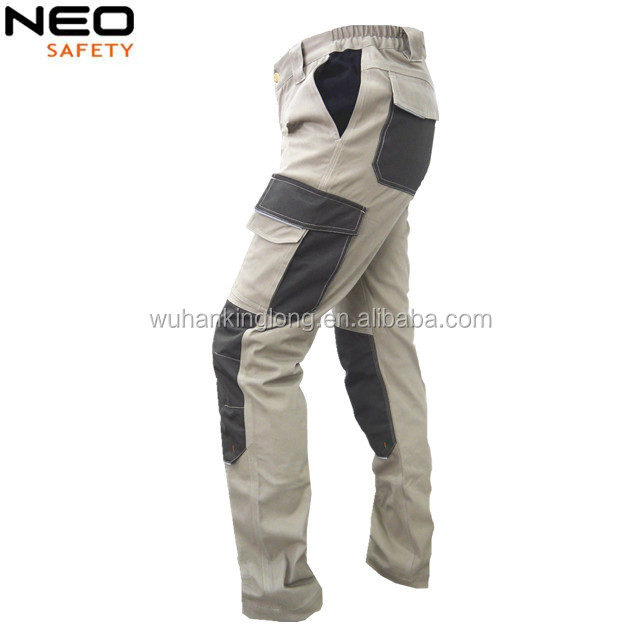 Mens Camo Camouflage Work Trouser Multi Pocket Pants Workwear