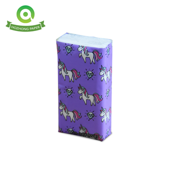 3-ply  custom printing Pocket Facial Tissues