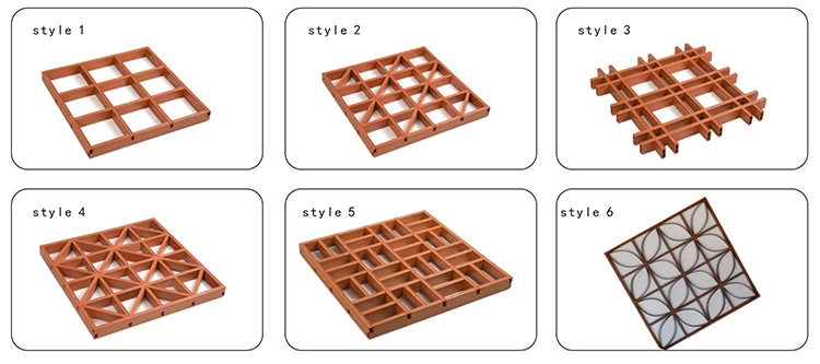 Hot sell Grid Ceiling internal hotel school decoration PVC ceiling tile