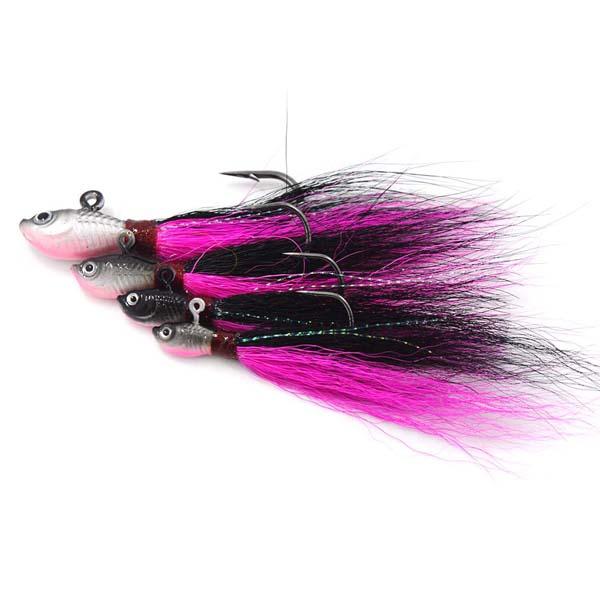 PINK Bucktail// 5//0 Hook 1 oz