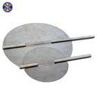 HVAC galvanized steel stainless steel manual round damper blade