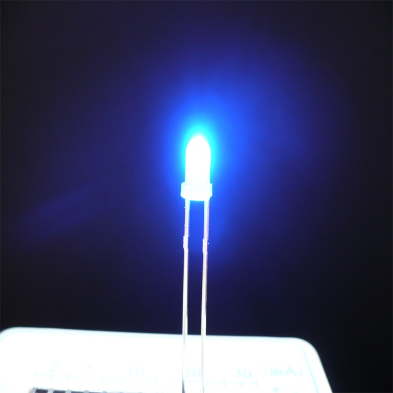 3mm Lens Welding Blue Mini Single Led Lights View Silsmart Product Details From Zhongshan Optoelectronics Co Ltd