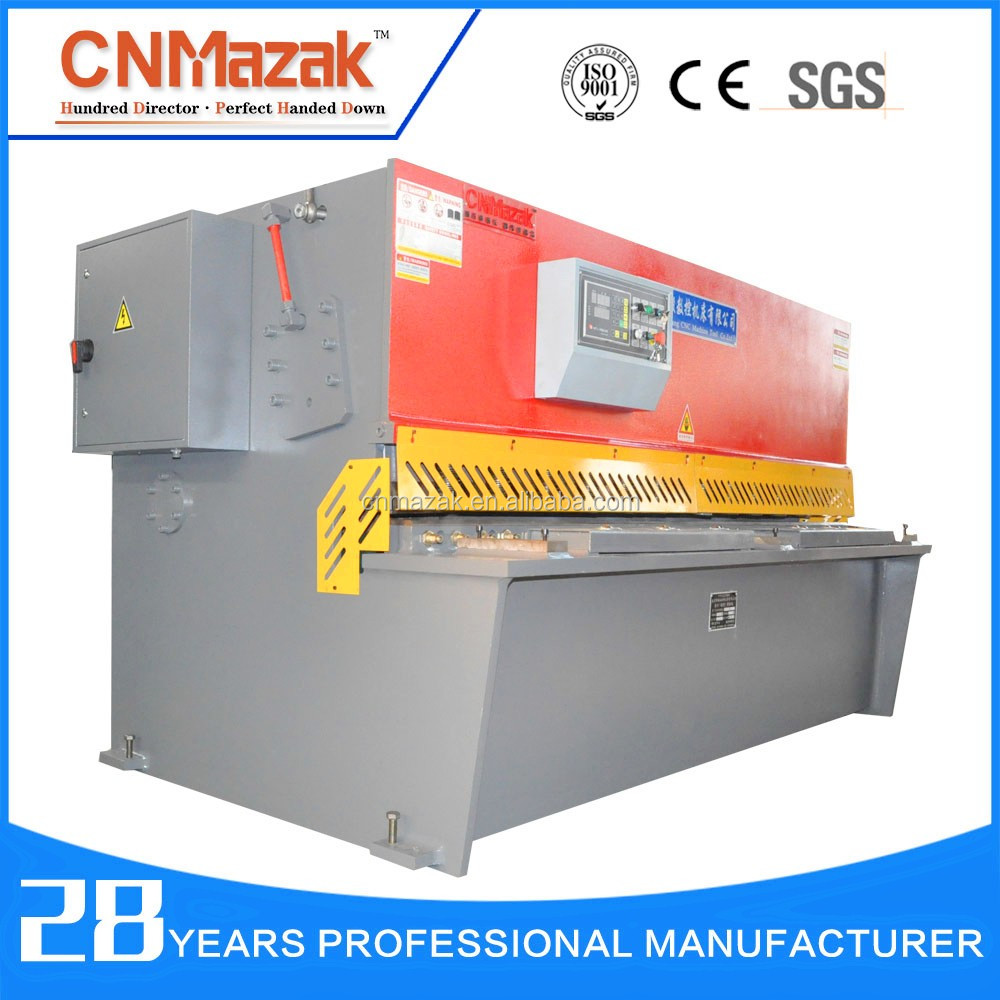 steel bar machine tools, low noise steel rod shearing machine QC12Y-6*6000