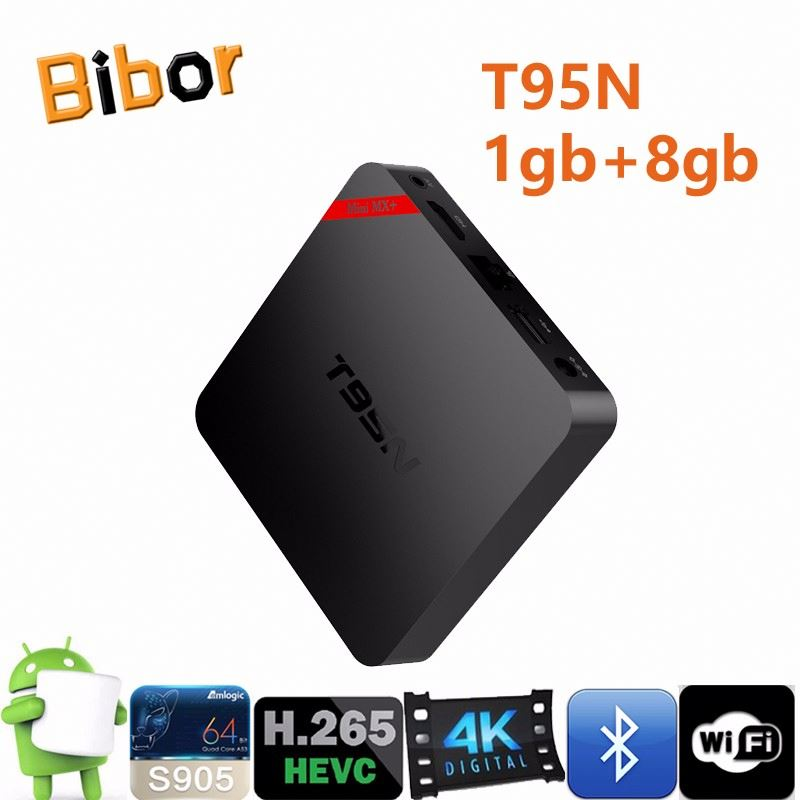 Newest 4K full HD android 5.1 tv box T95N enjoy the full range of information on television,SD/HD max.1920*1080