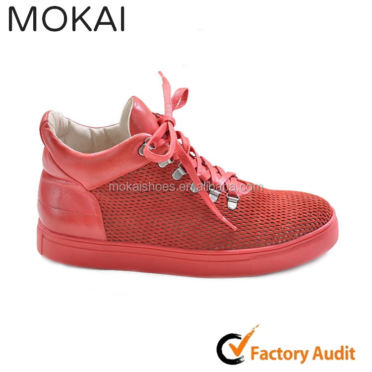 J001-mk18 New Fashion Men's Comfy Sneaker Red,China Manufacturer ...