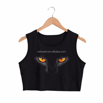 Sublimation crop tank top. No minimum. free shipment to USA, UK & Australia. Your design.