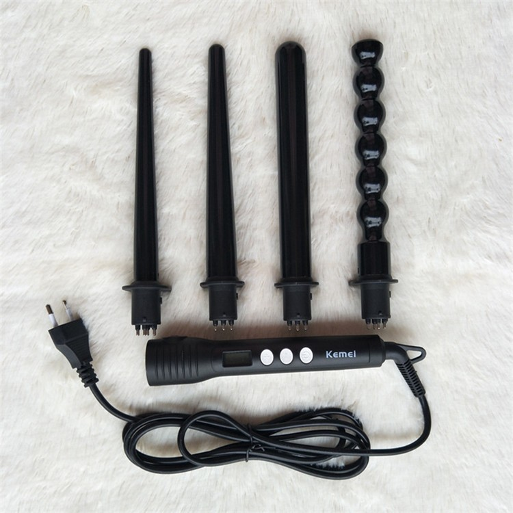 4 in 1 Different Curler Function Diagnostic-tool Professional Anti-scald Fast Hair Curler Brush Electric Styling Tools for Salon