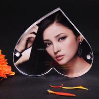 frameless acrylic block frame acrylic picture frames 3x5