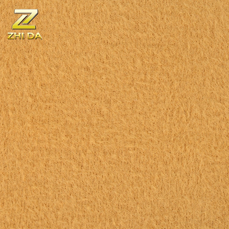 China fabric factory peach Skin Fabric in 100% polyester for home textile