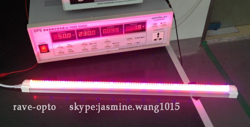 Dc12v 24v 48v T5 Integrated Grow Lamp Led 2ft Red Blue Tube 8w For ...
