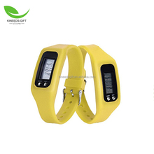 LED Wristband Multi-function Pedometer Waterproof Smart Sports Bracelet Watch Silicone LED watch bracelet