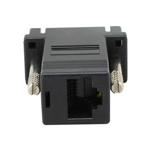 VGA to RJ45 Network extend adapter black color