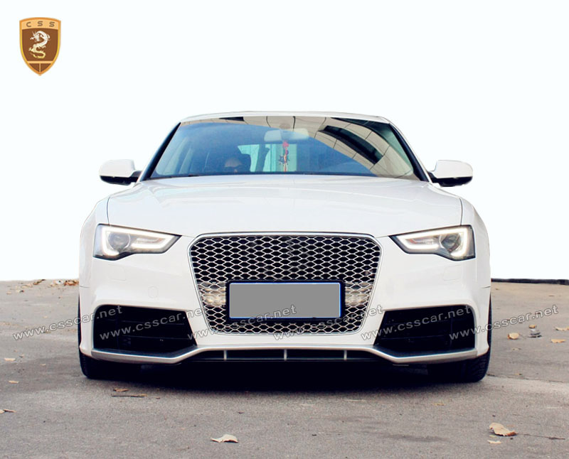 Factory price RS5 tuning car body kit for audi A5 in pp