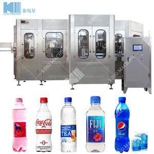 Full Automatic Carbonated Water bottle Production Line / Filler / Machine